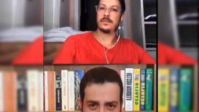 #Video Esposa De Periodista Aparece Desnuda En Medio De Entrevista
