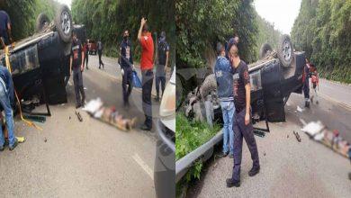 Photo of #Michoacán Se Vuelca Su Camioneta Y Muere En Carretera