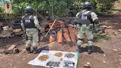 Photo of #Michoacán GN Asegura Armas Y Autos Al Crimen Organizado