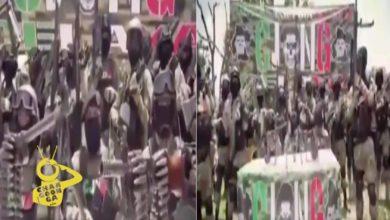 """Photo of #Video """"Nuestra Guerra No Es Contra El Pueblo Ni Gobierno"""", Asegura CJNG"""