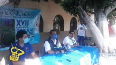Photo of #Michoacán CNTE Pide No Regresar A Clases Presenciales Hasta Que Haya Bajado COVID-19