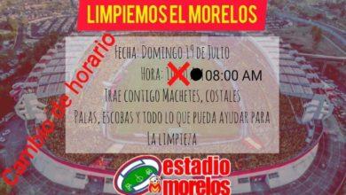 #Morelia Convocatoria Pa' Limpiar El Morelos Se Cambia De Hora
