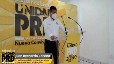 Prioridad De PRD Michoacán Es Refrendar Gubernatura En 2021: Dirigente