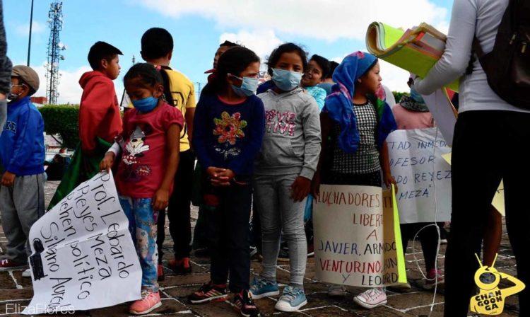 #Morelia FNLS Se Manifiesta Para Exigir Liberación De Profesor