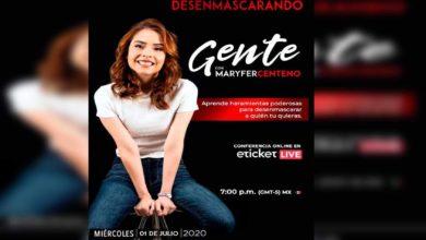 """Photo of Hoy Maryfer Centeno Ofrecerá Conferencia Virtual """"Desenmascarando Gente"""""""