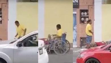 Photo of Lo Cachan En La Mentira: Tipo Finge Estar Invalido Y Pide Cooperacha
