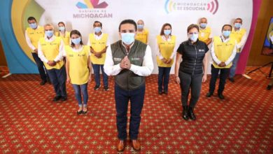 Photo of Presenta Gobernador A Los Guardianes De La Salud