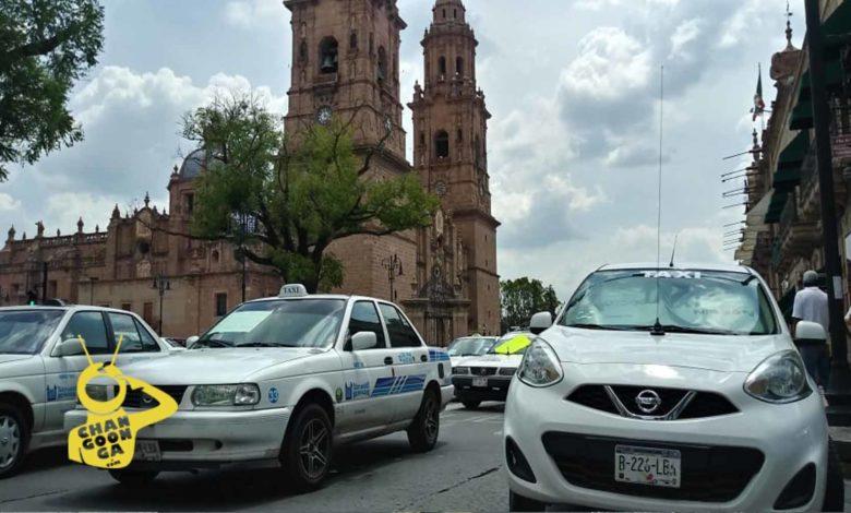 #Morelia Persiste Bloqueo De Transportistas En Centro Histórico