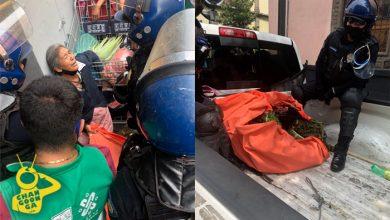Photo of ¡Montoneros! Polis Chilangos Se Burlan Y Quitan Hierbas A Abuelita Comerciante
