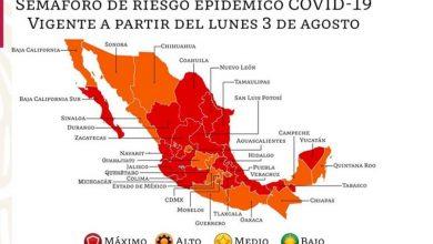Photo of Gatell Confirma Que Michoacán Y Otros 15 Estados Vuelven A Semáforo Rojo