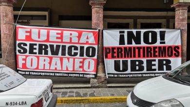 Photo of Advierte Pasalagua: No Permitiremos Que Uber Opere En Zamora