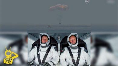 Astronautas De SpaceX Regresa A La Tierra, Aterrizaron En El Golfo De México