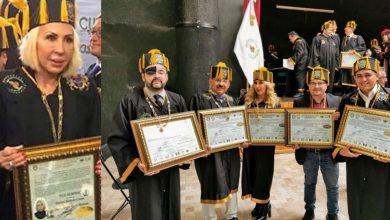 Photo of Reporteros De Mañanera De AMLO Reciben Doctorado Honoris Causa Y Los Comparan Con Laura Bozzo