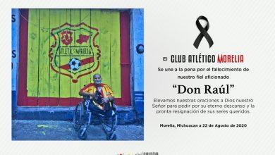 Photo of Atlético De Morelia Se Despide De Un Fiel Aficionado Don Raúl