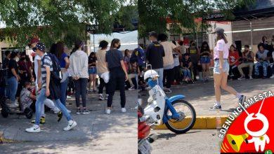 Photo of #Denúnciamesta: Arman expo, pero chavos morelianos no cumplen con medidas vs COVID-19