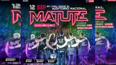 Photo of Matute Regresa Al Auditorio Nacional Para Presentar Su Show En Línea