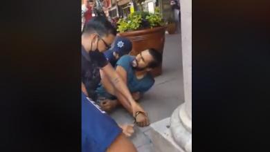 Photo of #Michoacán Graban Abuso Policial VS Chavo Por No Usar Cubrebocas