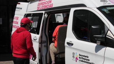 Photo of #Morelia Instalan Módulo Móvil De Expedición De Licencias Para Conducir En Acueducto