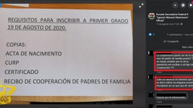 Photo of #Morelia Condicionan Inscripción En Secundaria 9 Hasta Que Paguen Cooperación