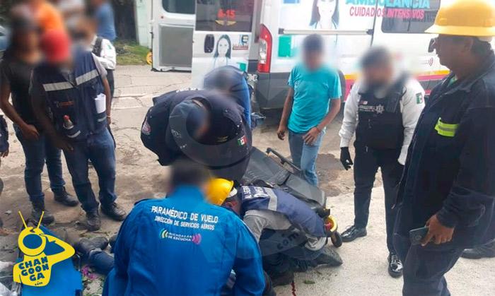 #Morelia Se Electrocuta Haciendo Instalación Y Cae De 5 Metros, En La Obrera