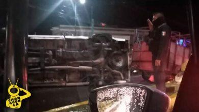 Photo of #Morelia Vuelca Camioneta En Cruce De Avenidas La Huerta Y Universidad