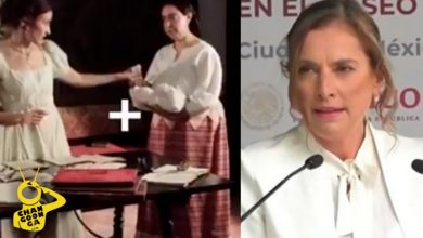 "Photo of Se Burlan De Esposa De AMLO, Le ""Filtran"" Video De Leona Vicario Dando Lana"