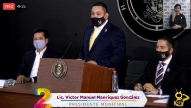 Photo of Seguridad Es Un Reto: Víctor Manríquez, Alcalde De Uruapan, Durante 2do Informe De Gobierno