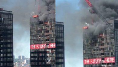 Photo of Agosto Sigue Sorprendiendo: Se Incendia Torre Del WTC En Bruselas