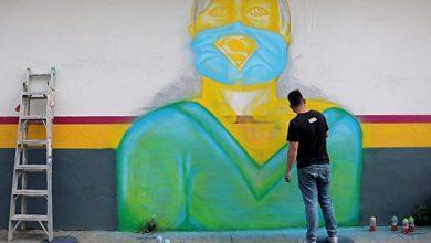 Photo of #Uruapan Juventud Pinta Mural A Cuerpo Médico Por Luchar Vs COVID-19