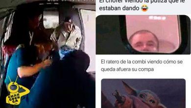 Photo of #Video Le Meten Mad*za A Ladrón De Combi, Internet Nos Regala Estos Memes
