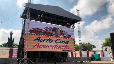 #Morelia Abrirán Otro Autocinema, Ahora En Acueducto
