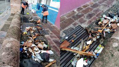 #Morelia Piden Que No Sean Tan Porkis Y Dejen De Tirar Basura En La Calle