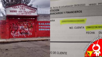 Photo of #Denúnciamesta Pese a estar prohibido, secundaria pide cuota de inscripción