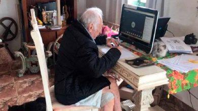 Photo of Abuelito Estudia La Universidad A Sus 92 Años, Quiere Ser Arquitecto