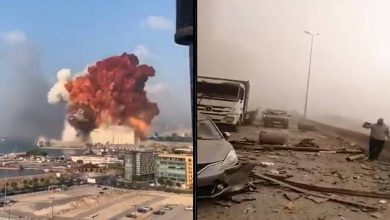 Impactante Explosión En Puerto De Beirut