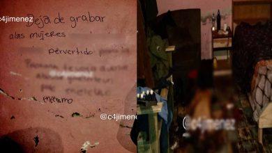 """Photo of """"Deja De Grabar Mujeres, Pervertido"""", Asesinan A Hombre Y Le Dejan Mensaje Por Acosador"""