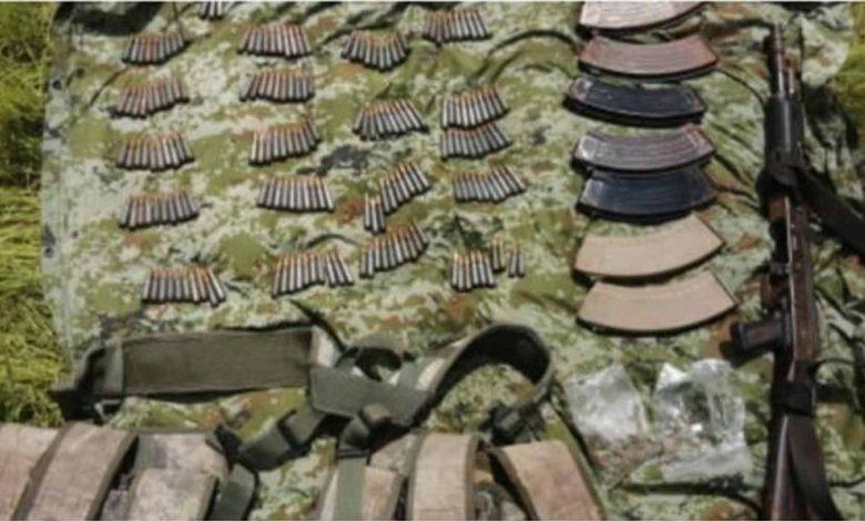 #Michoacán GN Detiene A Dos Chavitos Armados Hasta Los Dientes