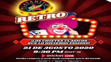 Photo of Platanito Show Retro Llegará A Plataformas Virtuales Y Tenemos Cortesías