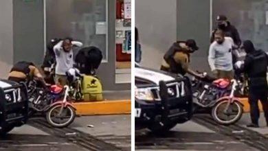 Photo of #Video Cachan A Poli Sembrandole Droga A Un Repartidor