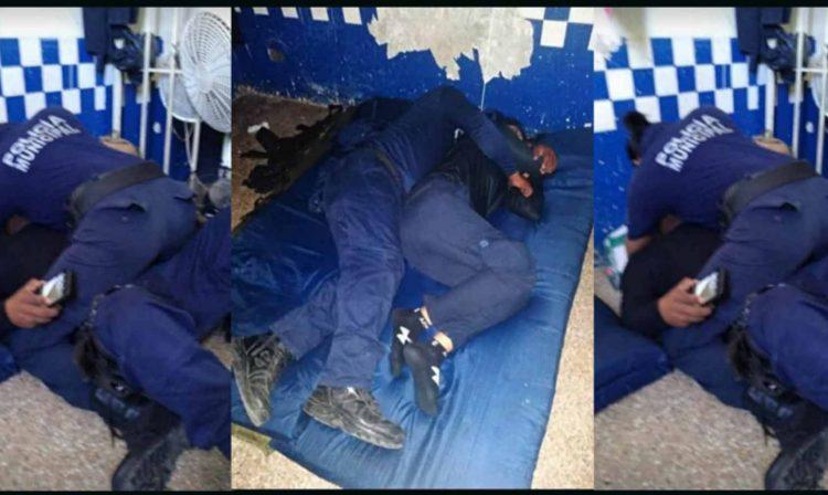 Pasa En México: Polis Agarran Comandancia Como Motel