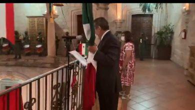 Photo of Alcalde De Morelia Armó Su Propia Ceremonia De 'El Grito'