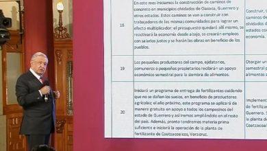 Photo of AMLO Presume Que Lleva Más De 90 Compromisos Cumplidos De Los 100 Que Hizo