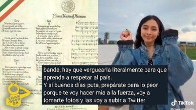 Photo of Amenazan Con Violar A Chava Que Se Viralizó Bailando 'Sexy' El Himno Nacional