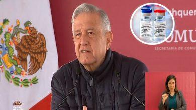 Photo of AMLO: México Será De Los Primeros Países En Aplicar Vacuna Vs El COVID-19