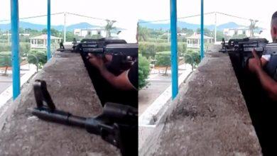 """Photo of #Michoacán Cárteles Unidos Graban """"Topón"""" Con El CJNG En El Aguaje"""