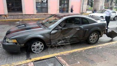 Photo of Carro En Sentido Contrario Choca Contra Otro En Acueducto De Morelia