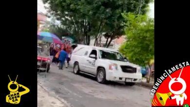 Photo of #Denúnciamesta Arman caravana fúnebre con torito de petate y sin sana distancia