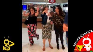 Photo of #Denúnciamesta Doñas se burlan por pedirles que usaran tapabocas, en Las Américas
