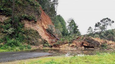 Photo of Se Reporta Derrumbe De Cerro En Carretera Villa Madero – Nocupétaro