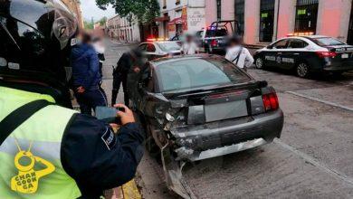 Photo of Filtran Video De Presunto Disparo En Detención De Moreliano Que Chocó En Acueducto